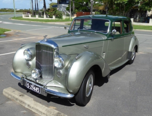 1955 R Series Bentley Saloon