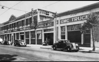 Holden's Brisbane assembly plant, Wickham Street, Fortitude Valley, c1930 (source: Holden Retirees Club Website)
