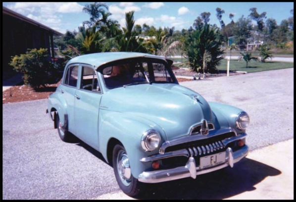 The car in 1991 with Northern Territory registration plates