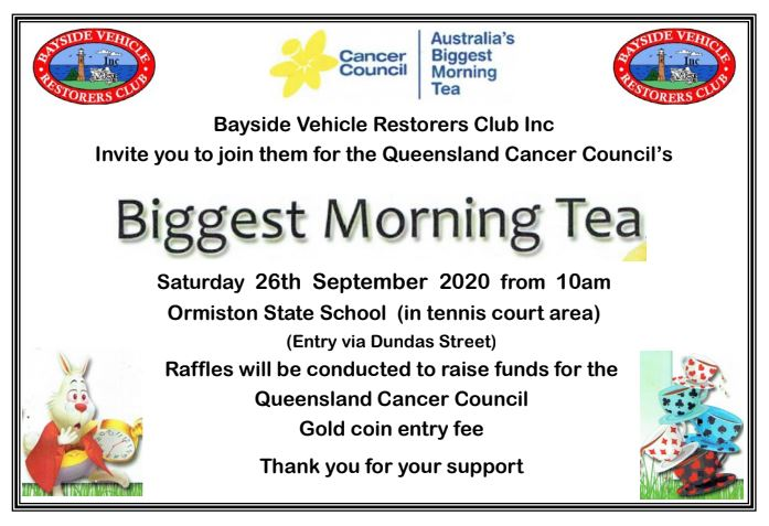 2020-09-26 - Biggest Morning Tea