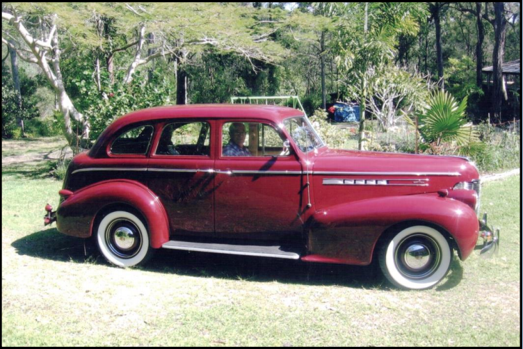 1939 Series 60 Oldsmobile