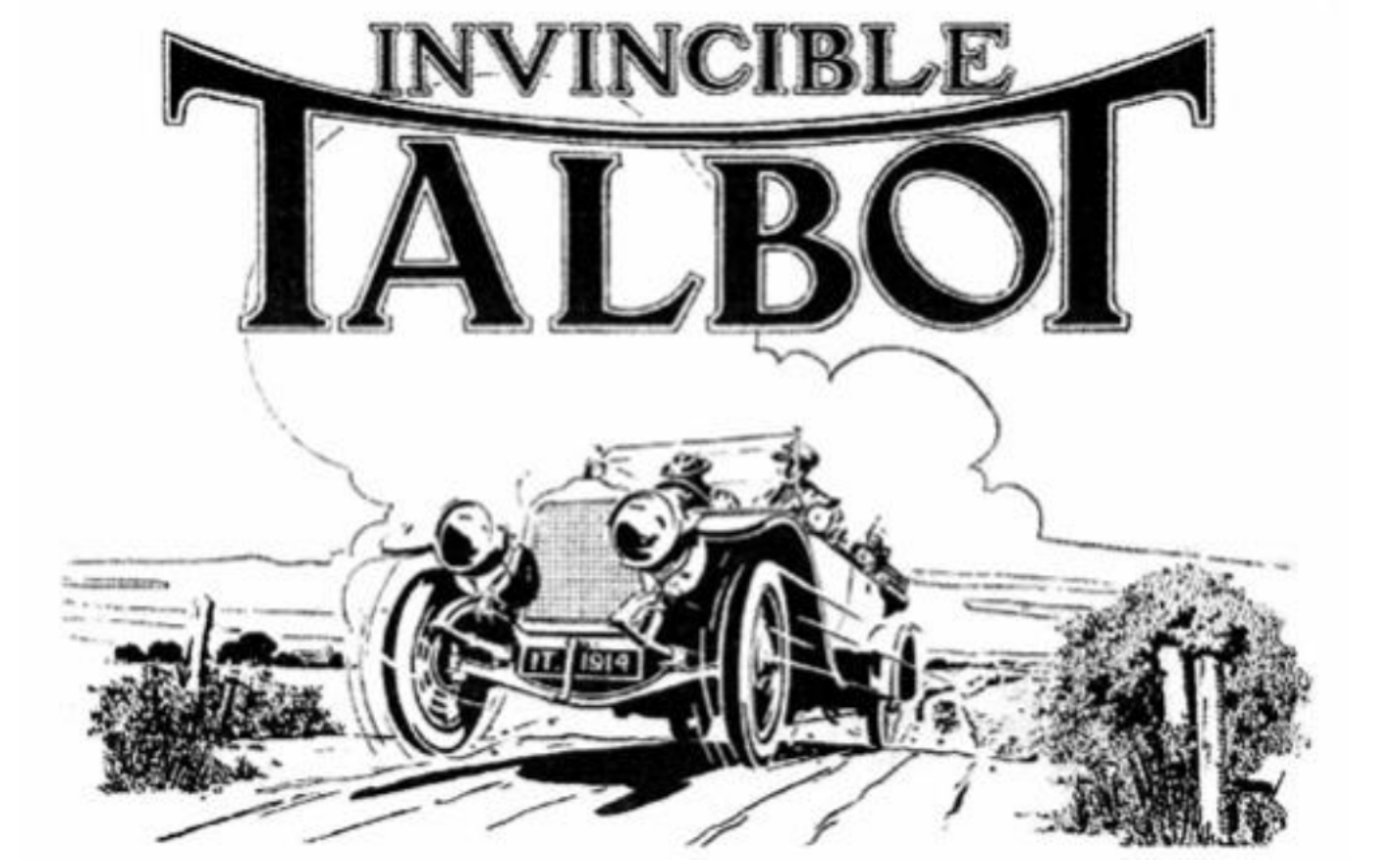 1914 Talbot 4CBX Roadster
